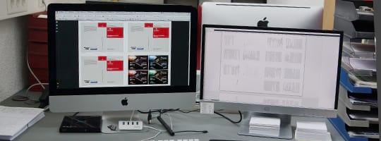 Daten-Anlieferung und Kontrolle